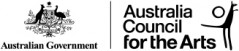 Australia Council Logo Horizontal Black Small